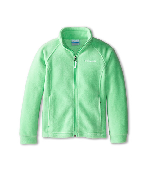 Columbia Kids - Benton Springs Fleece (Little Kids/Big Kids) (Chameleon Green) Girl