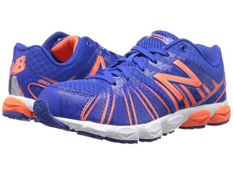New Balance Kids - 890v5 (Big Kid) (Blue/Orange) Boys Shoes