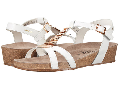 Mephisto - Irma (White Cigale) Women's Sandals