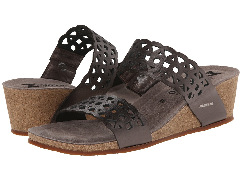 Mephisto - Manon (Grey Waxy) Women's Sandals