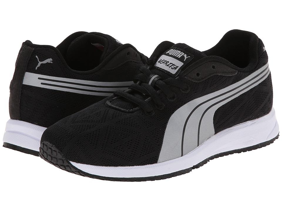 Puma Kids - Narita V2 Jr (Little Kid/Big Kid) (Black/Silver Metallic) Kids Shoes