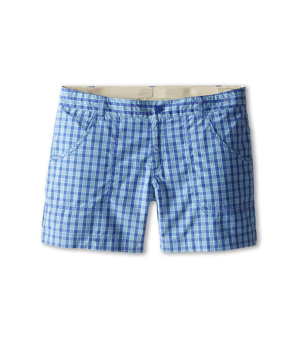 Columbia Kids - Silver Ridge III Short (Little Kids/Big Kids) (Light Grape Plaid) Girl's Shorts