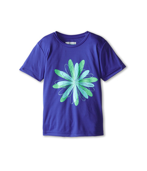 Columbia Kids - Graphic Tee (Little Kids/Big Kids) (Light Grape) Girl