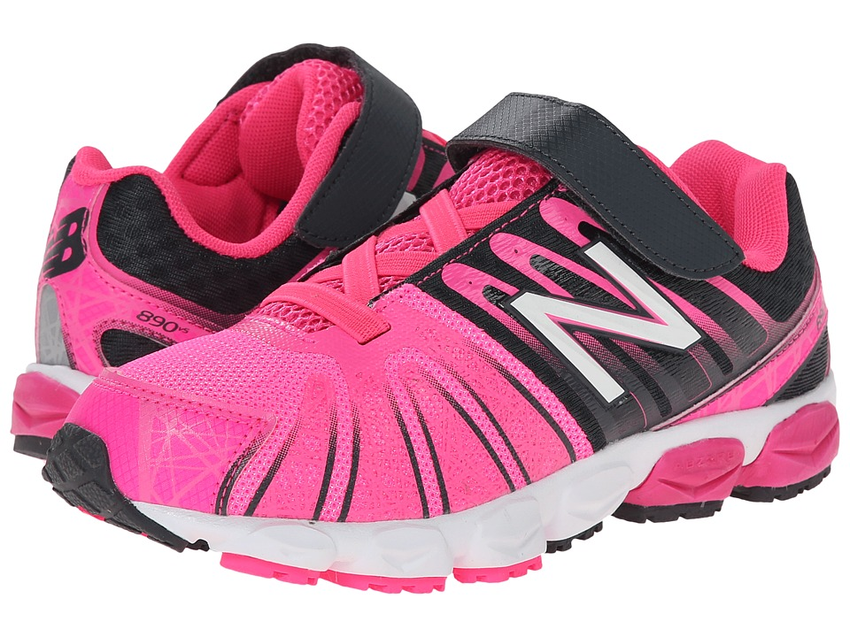 New Balance Kids - 890v5 (Little Kid) (Pink/Black) Girls Shoes