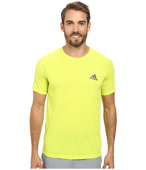 adidas - Ultimate S/S Crew Tee (Semi Solar Yellow/DGH Solid Grey) Men