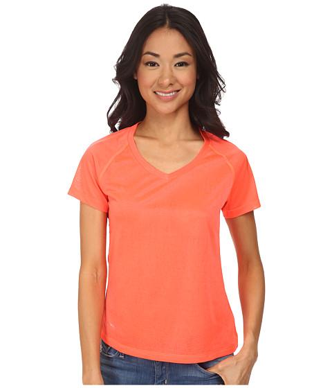Helly Hansen - VTR Burner S/S (Neon Coral) Girl's Short Sleeve Pullover