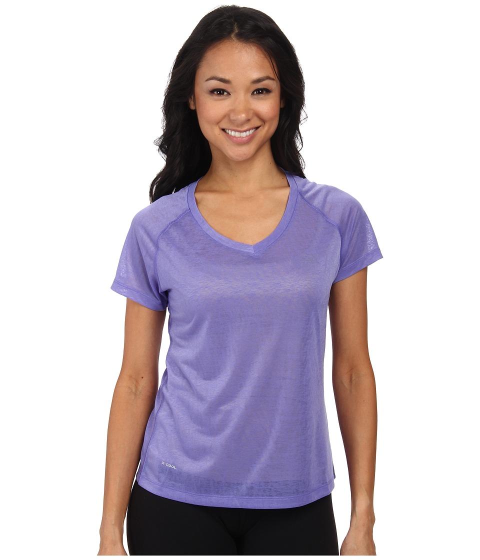 Helly Hansen - VTR Burner S/S (Lavender) Girl's Short Sleeve Pullover