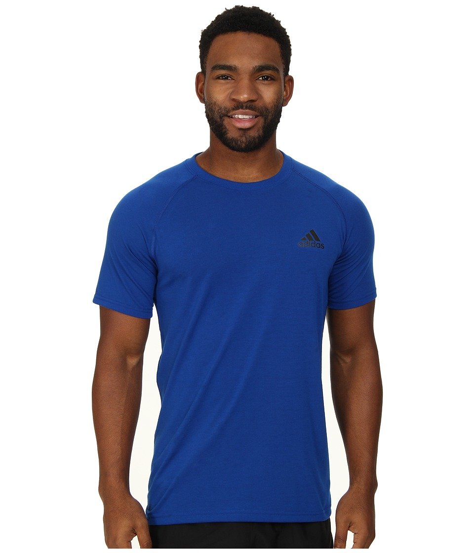 adidas - Ultimate S/S Crew Tee (Collegiate Royal/Black) Men's T Shirt