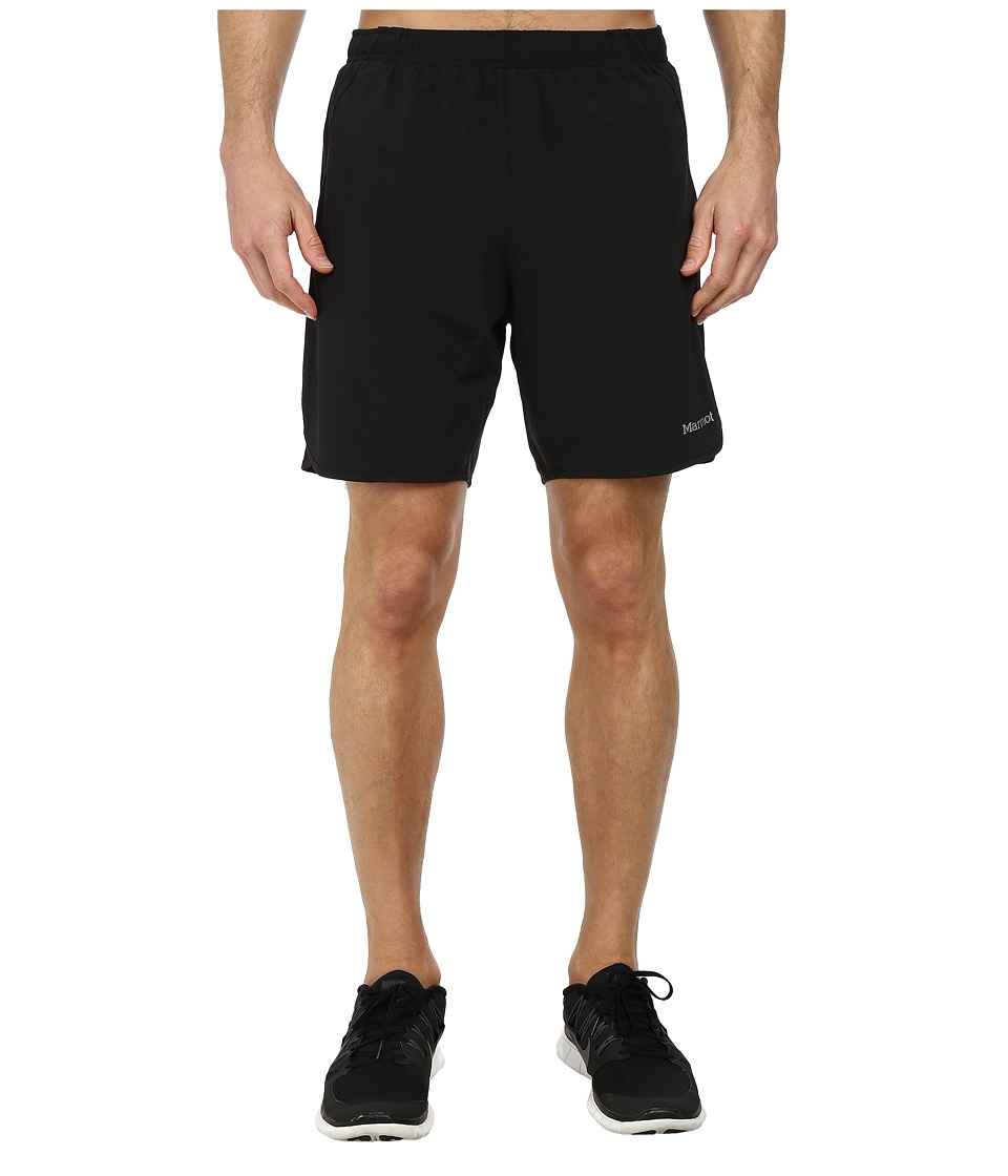 Marmot - Interval Short (Black/Black) Men