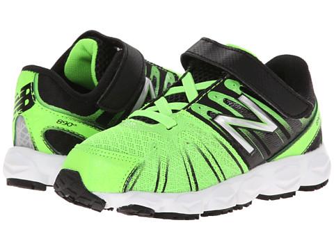 New Balance Kids - 890v5 (Infant/Toddler) (Green/Black) Boys Shoes