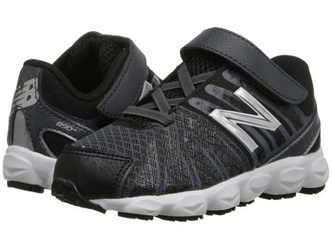 New Balance Kids - 890v5 (Infant/Toddler) (Black/White) Boys Shoes