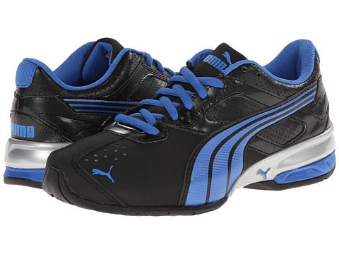 Puma Kids - Tazon 5 NM Jr (Little Kid/Big Kid) (Black/Strong Blue/Black) Boys Shoes