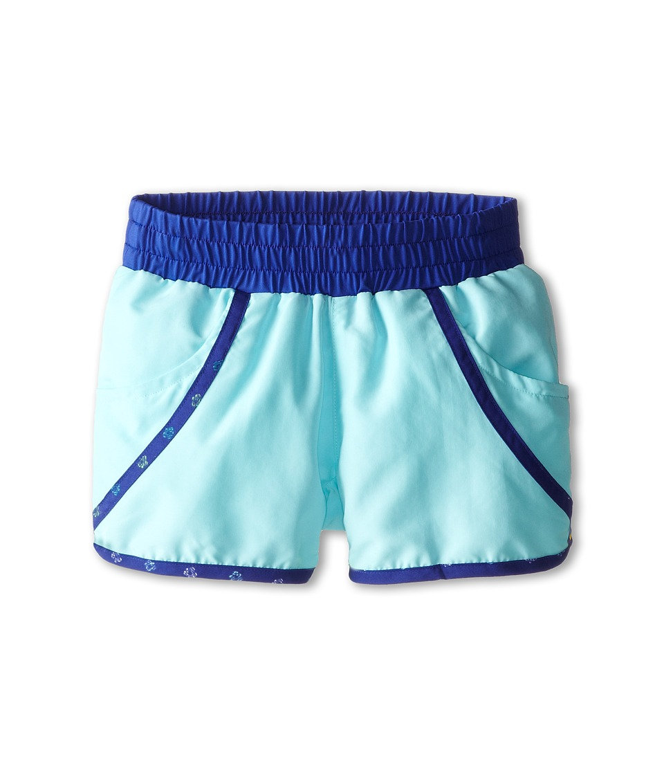 Columbia Kids - Solar Stream II Boardshort (Little Kids/Big Kids) (Candy Mint/Light Grape Print) Girl