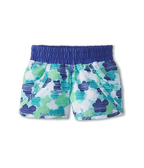Columbia Kids - Solar Stream II Boardshort (Little Kids/Big Kids) (Chameleon Green Print/Light Grape) Girl's Swimwear