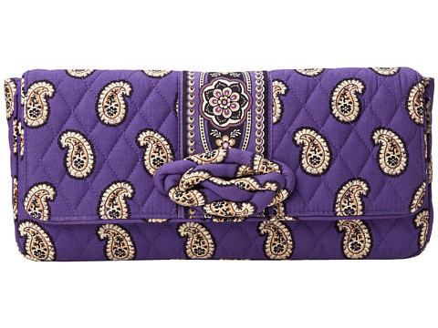Vera Bradley - Knot Just a Clutch (Simply Violet) Clutch Handbags