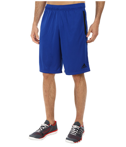 adidas - Ultimate Force 4 Shorts (Collegiate Royal/Black) Men's Shorts
