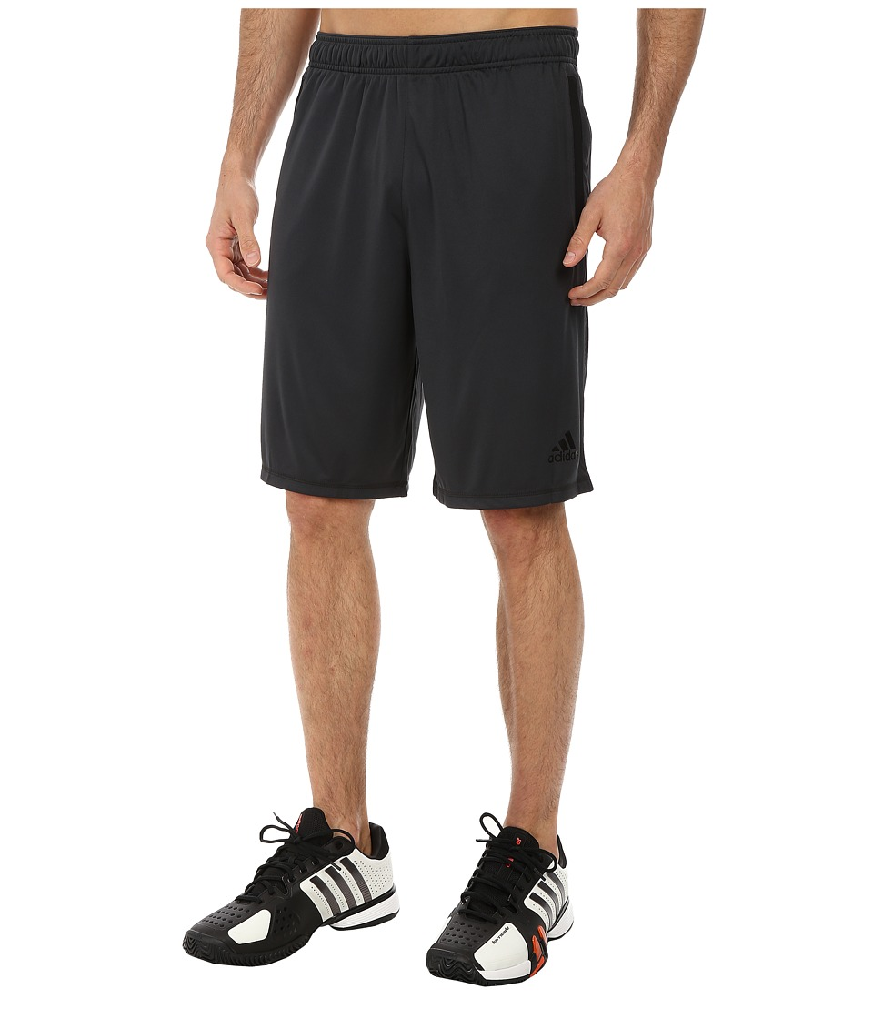 adidas - Ultimate Force 4 Shorts (Dark Grey/Black) Men's Shorts