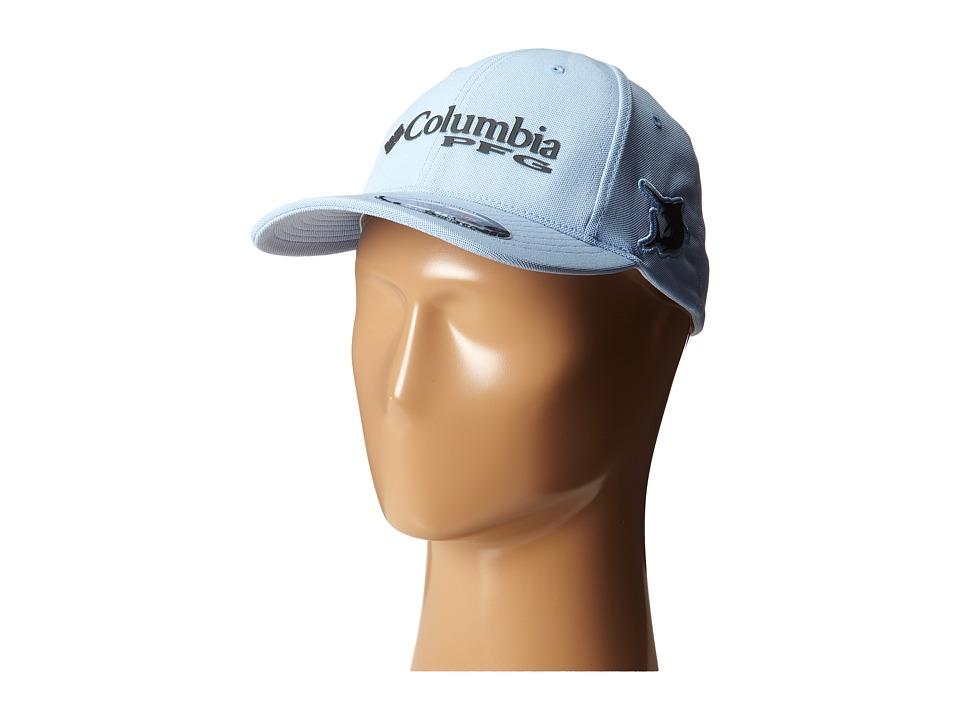 Columbia - PFG Mesh Pique Ballcap (Sail/Marlin) Caps