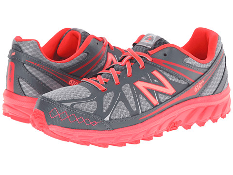 New Balance Kids - 610 (Little Kid/Big Kid) (Grey/Pink) Girls Shoes