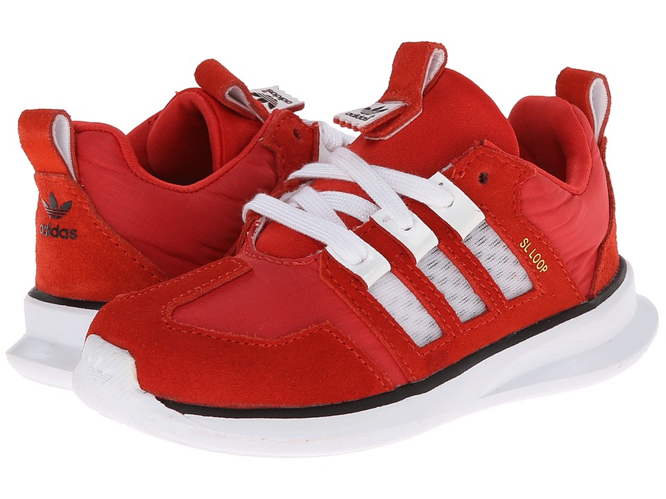adidas Originals Kids - Adidas Loop Runner (Toddler) (Red/White/Black) Boys Shoes