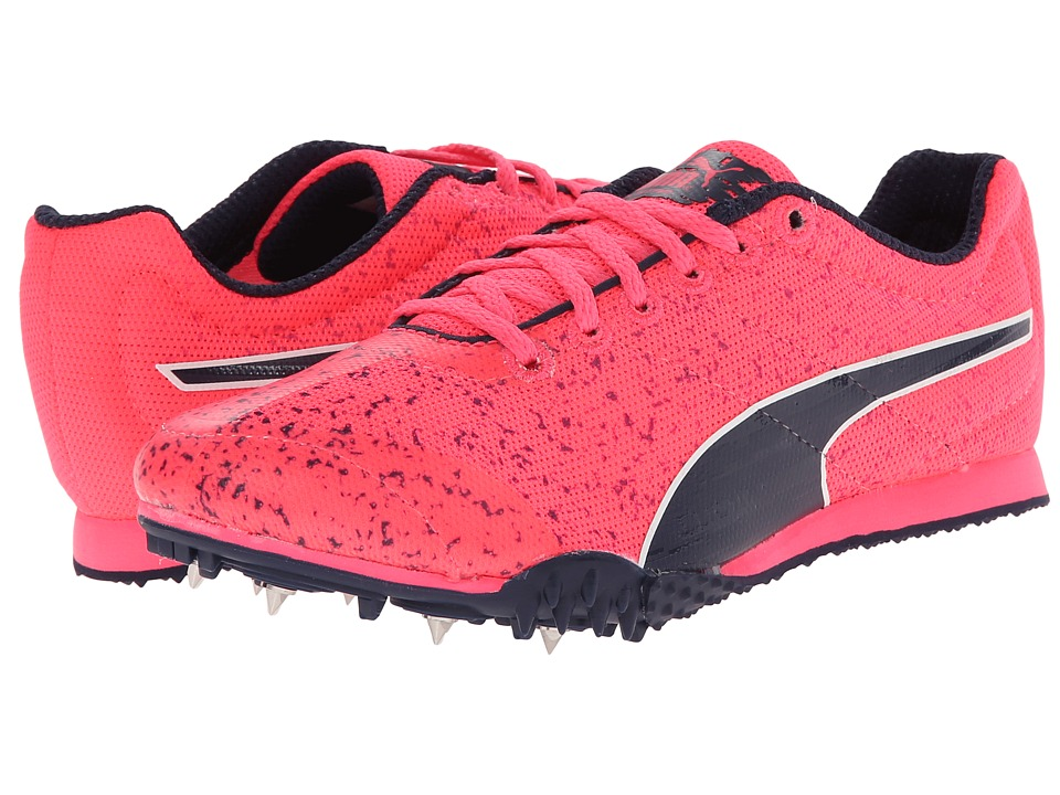Puma Kids - TFX Star Jr v3 (Little Kid/Big Kid) (Fluorescent Pink/Black) Girls Shoes