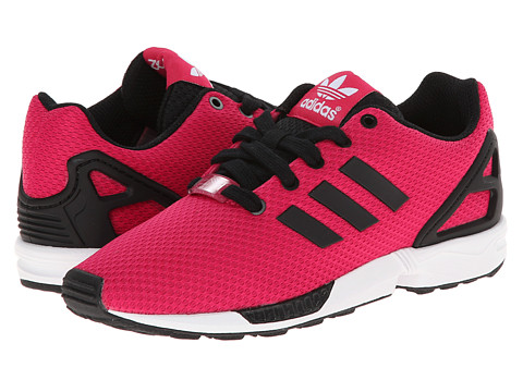 adidas Originals Kids - ZX Flux (Little Kid/Big Kid) (Bold Pink/Black/White) Girls Shoes