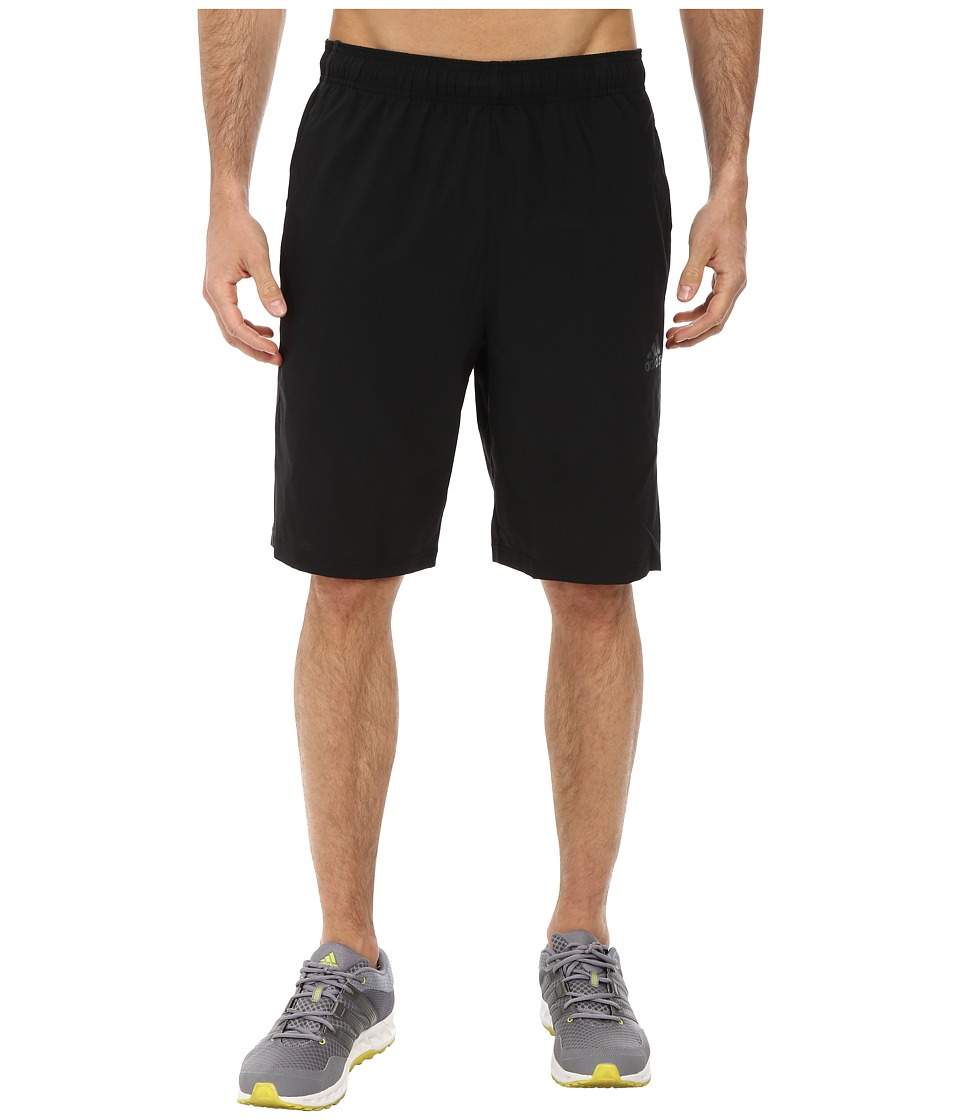 adidas - ClimaCore Elevated Woven Short (Black/DGH Solid Grey) Men's Shorts