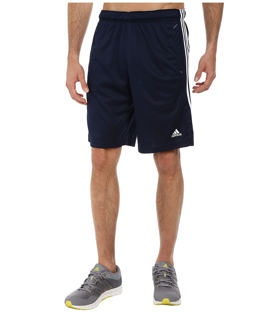 adidas Essential 3S Shorts (Collegiate Navy/White) Men