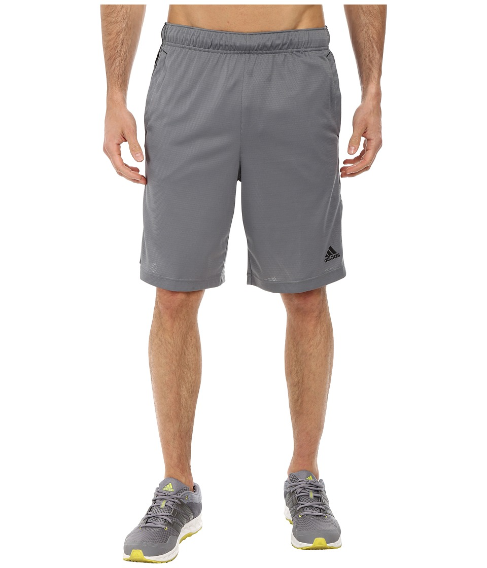 adidas - Essential 3S Shorts (Vista Grey/Black) Men's Shorts