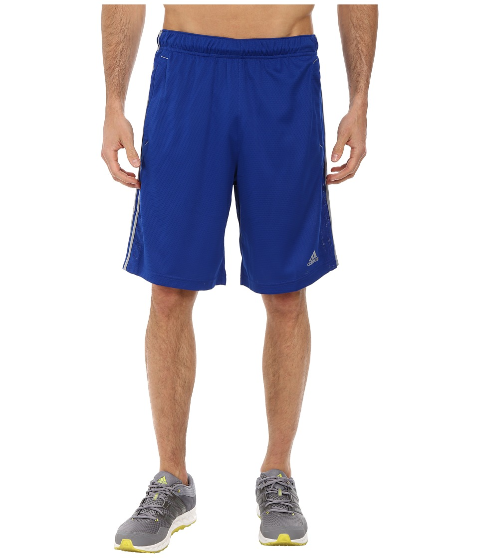 adidas - Essential 3S Shorts (Collegiate Royal/Grey) Men