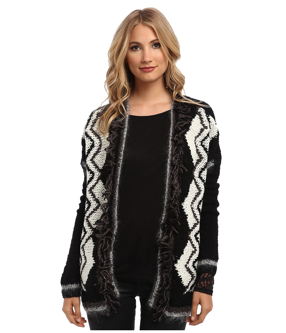 Velvet by Graham & Spencer - Giovanna02 Sweater (Black/Cream) Women's Sweater