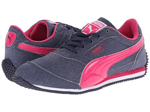 Puma Kids - Steeple Glitz AOG Jr (Little Kid/Big Kid) (Peacoat/Beetroot Purple) Girl's Shoes