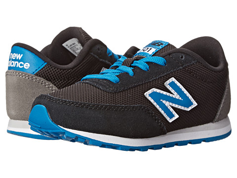 New Balance Kids - 501 (Infant/Toddler) (Black/Blue) Boys Shoes