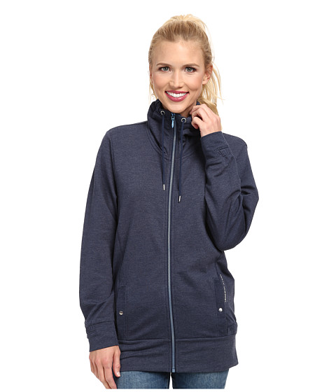 Helly Hansen - Bliss Full Zip Cardigan (Evening Blue) Girl's Sweater