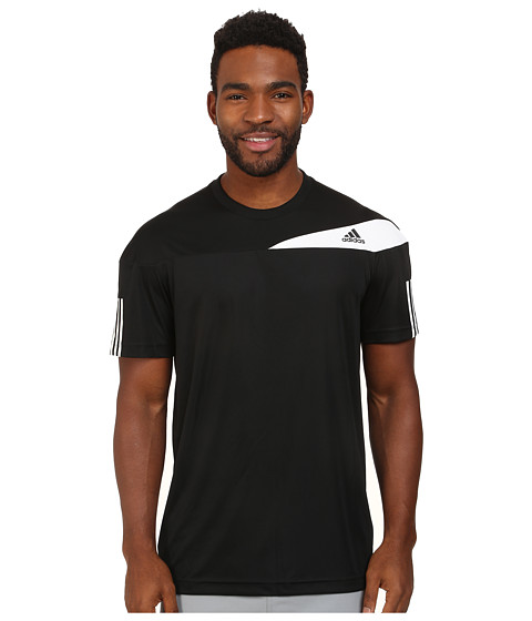 adidas - Response Tee (Black/White) Men