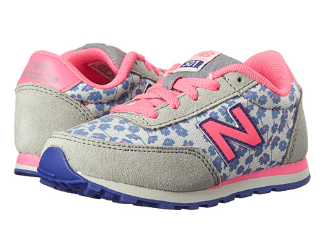 New Balance Kids - 501 (Infant/Toddler) (Pink/Steel) Girls Shoes