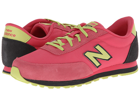 New Balance Kids - 501 (Little Kid/Big Kid) (Blush/Green Tea) Girls Shoes