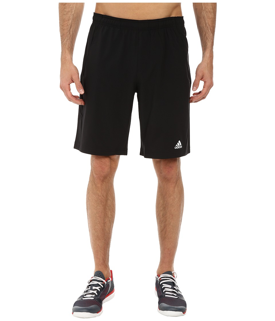 adidas - Tennis Sequencials Essex Short (Black/White) Men's Shorts