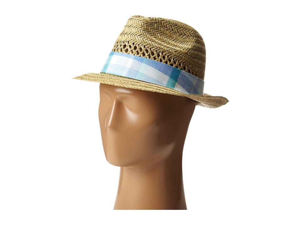 Columbia - Sun Drifter Straw Hat (Natural/Air Plaid) Traditional Hats