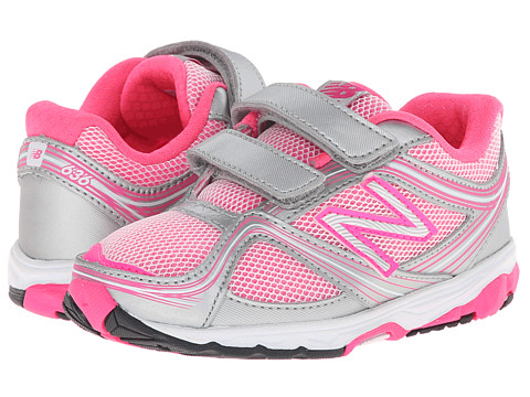 New Balance Kids - 636 (Infant/Toddler) (Pink/Grey) Girls Shoes