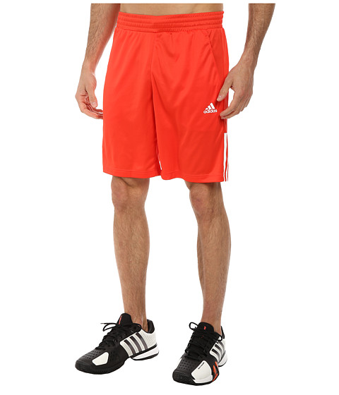 adidas - Tennis Sequencials Galaxy Short (Bright Red/White) Men's Shorts