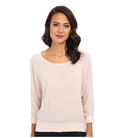 Velvet by Graham & Spencer - Yelene02 Top (Blusher) Women's Long Sleeve Pullover