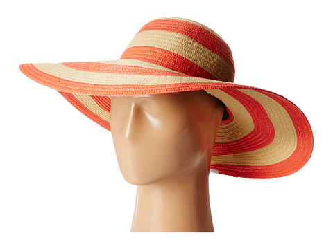 Columbia - Sun Ridge II Hat (Red Hibiscus Stripe) Traditional Hats