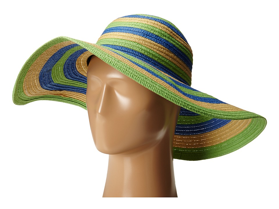 Columbia - Sun Ridge II Hat (Chameleon Green Stripe) Traditional Hats