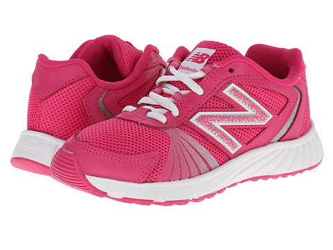 New Balance Kids - 555 (Little Kid/Big Kid) (Pink/Purple) Girls Shoes