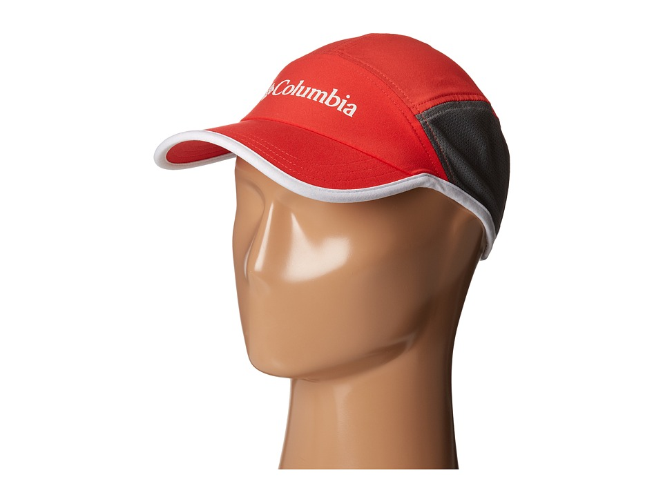 Columbia - Trail Dryer Cap (Red Hibiscus/White) Caps