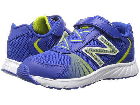 New Balance Kids - 555 (Little Kid/Big Kid) (Blue/Yellow) Boys Shoes