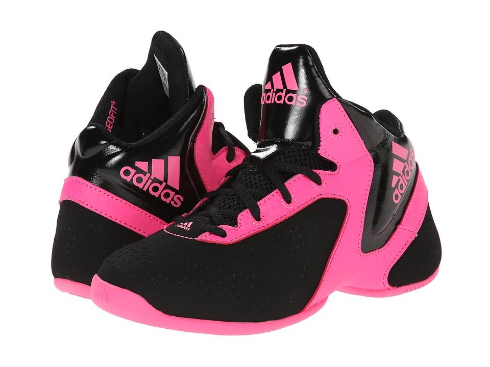 adidas Kids - Next Level Speed 3 K (Little Kid/Big Kid) (Black/Solar Pink/Black) Girls Shoes