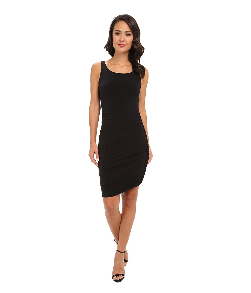 Velvet by Graham & Spencer - Santina02 Stretch Jersey Dress (Black) Women's Dress