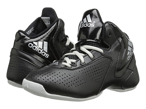 adidas Kids - Next Level Speed 3 K (Little Kid/Big Kid) (Black/Silver Metallic/White) Boys Shoes